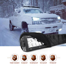 52 Inch LED Light Bar Cover Straight Curved Protective Gear Sleeve Waterproof