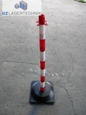 Sperrpfosten Absperrpfosten rot/weiß Leitzylinder Pfosten Poller Warnpfosten 850