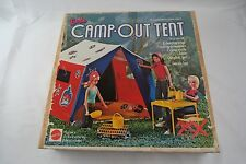 1970's Barbie Camp Out Tent w/ Accessories Barbie doll