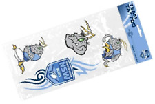 New South Wales State of Origin NRL Temporary Team Tattoos