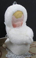 Dept 56 Snow Angels - ANGEL PRAYING Ornament #49720 New In Box