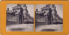 Château de Fontainebleau Photo stéréo Stereoview Vintageargentique