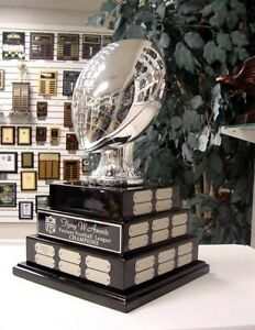 3 TIER LARGE FANTASY FOOTBALL FFL PERPETUAL AWARD 38 YEARS AWESOME TROPHY *