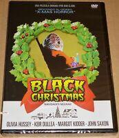 BLACK CHRISTMAS . NAVIDADES NEGRAS - English Français Español - Precintada Seale