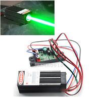532nm 60mW Green Laser Dot Module w/TTL 12V Fat Beam Bar Stage Lights