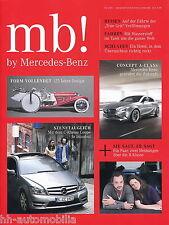 mb by Mercedes 2/11 Concept A-Class C-Klasse Coupé R-Klasse Smart forspeed 2011