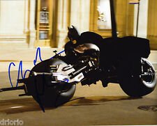 REPRINT - CHRISTIAN BALE #4 Dark Knight Batman autographed signed photo