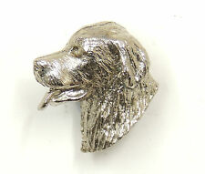 Bernese Mountain Dog Silver Lapel Pin