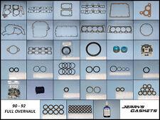 CORVETTE ZR-1 LT5 FULL OVERHAUL GASKET KIT, 90~92, PN 77779092-V