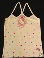 KiLaRa Hello Kitty Tank T shirt Top  Glitter NWT Blouse T-shirt Tee  Sz S