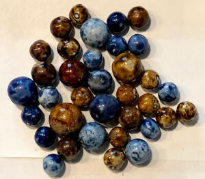 Collection Of 35 Blue & Brown Benningtons Different Sizes (1Shooter)