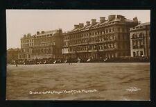 Devon PLYMOUTH Grand Hotel Royal Yacht Club c1900/10s? RP PPC pub by Marston