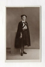 PHOTO ANCIENNE - SCOUT SCOUTISME - Portrait Jeune Fille Studio 1936 Costume