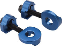 """Promax C-2 Chain Tensioners for 3/8""""/10mm Axles Blue"""