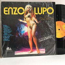 ENZO LUPO Y Su Saxo de Oro Musica de Discoteca LP AL RECORDS 1976 VG+ cheesecake