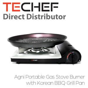 TeChef - Agni Portable Gas Stove with Korean BBQ Grill Pan