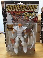 SIGNED Rob Liefeld Youngblood SHAFT Action Figure Rare Extreme 25 anniversary