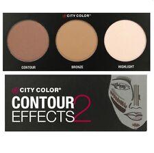 City Color Contour Effects 2 Palette 2 - Contour, Bronze & Highlight (FREE SHIP)