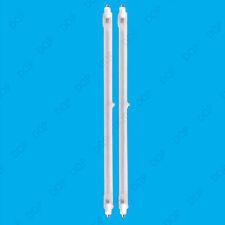 2x 400W Halogen Heater Replacement Tubes 242mm Fire Bar Heater Lamp Element Bulb