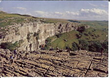 Yorkshire - Malham Cove and Limestone Pavement - Posted c.1980's