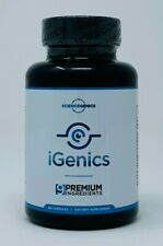 iGenics 9 Premium Ingredients 60 Capsules - New/Sealed EXP: 9/2021 - Eye Health