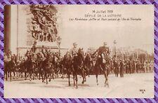 Carte Postale - Paris - 14 juillet 1919, efilé de la victoire,  les maréchaux