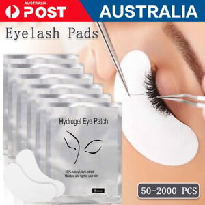 200 x Under Eye Curve Eyelash Pads Gel Patch Lint Free Lash Extension Beauty