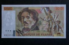 Billet de 100 Francs Delacroix  type 1978 modifié de 1984 / état: NEUF