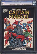 Marvel Graphic Novel #1 CGC 9.4 WP 'Death' Captain Marvel Jim Starlin