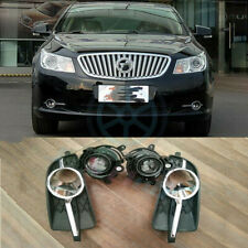 For Buick LaCrosse 2010-2013 4x Front Bumper Fog/Driving Lights&Housing Cover j