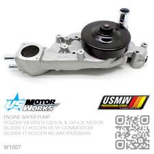 US MOTOR WORKS WATER PUMP V8 GEN IV LS2 6.0L [06/2009-15 HOLDEN WM-WN CAPRICE]