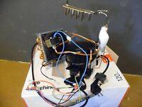Kompressor für H.Koenig KB14 Eiswürfelbereiter Ersatzteile, Ventilator, Ventil