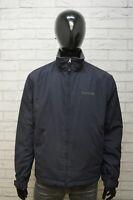 Giubbotto Uomo Timberland Taglia XL Giubbino Giacca Jacket Blu Man Jacke Bomber