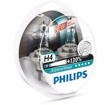 H4 Philips X-treme Vision +130% Halogen headlight bulb 12342XV+S2 H4 12V 55W