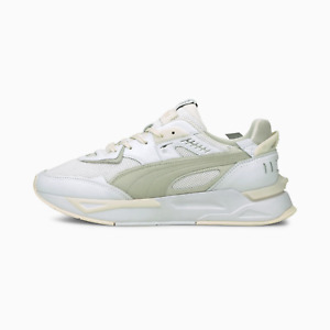 Puma Mens Mirage Sport Luxe Comfort Shoes White and Grey
