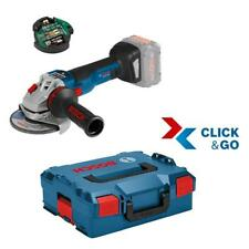 Bosch Akku-Winkelschleifer GWS 18 V-10 SC 125mm inkl. L-Boxx/GCY 30-4