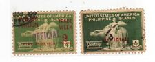 OLD US-PHILIPPINES STAMPS OFFICIAL  - A