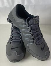 Nike SHOX NZ Running Shoes Swoosh Iron Ore NEW Gray Sz 9 Jogging Road 378341