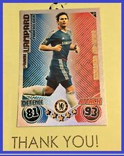 Match Attax Extra 2010 2011 Topps LE2 FRANK LAMPARD Limited Edition 10 11