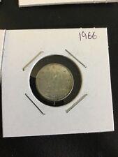 Canada  1966  10 cent Dime ( 2.33grams, 80% Silver)    coin