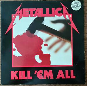 """Metallica – Kill 'Em All (Vinyl, LP, Album) (2 x Vinyl, Album,12""""inch)"""