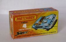 Repro Box Matchbox Superfast Nr. 4 Pontiac Firebird