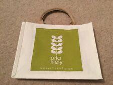 Orla Kiely Small Jute Shopping Bag