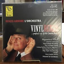 RENZO ARBORE L'ORCHESTRA VINYLRENZO 45 RPM 2 VINYL LP's ONLY 496 ISSUED