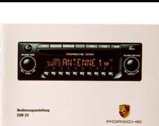 PORSCHE CDR23 CD DISC PLAYER STEREO RADIO CAYENNE S BECKER BE6627 7L5.035.186D