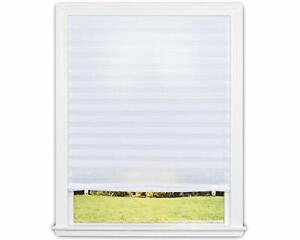 Paper Pleated Shade White Window Blind Sun UV Block Blackout Light Control