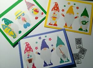 Gnome Notelets/Cards/invitations