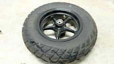 17 Yamaha YW50 YW 50 Zuma Scooter front wheel rim and tire
