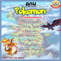Pokemon Sword and Shield Any Pokemon Shiny Gigantanmax Custom 6IV | 24/7 | LEGIT