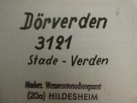 3121 Dörverden 1:25.000 Meßtischblatt Topographische Karte 1956 E804